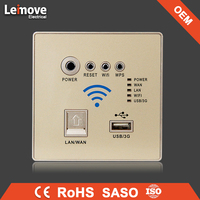 OEM self powered wireless electric wifi wall switch products exported from china