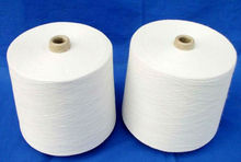 china 100 polyester ring spun yarn pure virgin with best price and quality