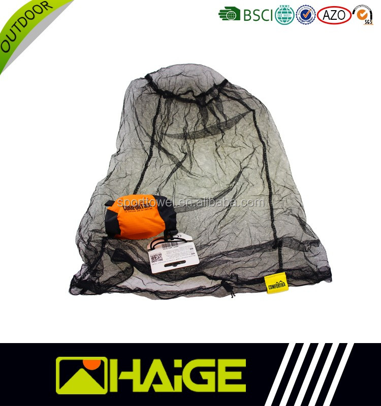 Long Lasting Circular Mosquito Head Net / Insect Hat Net