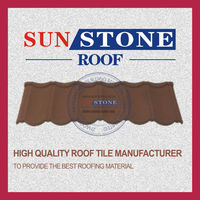 big or small sand coated metal roofing tiles clip in tile building materials stone