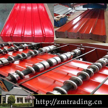 color galvanized steel prepainted metal trapezoidal roofing sheets