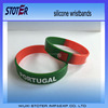 Portugal silicone wristbands silicone rubber wristband watch