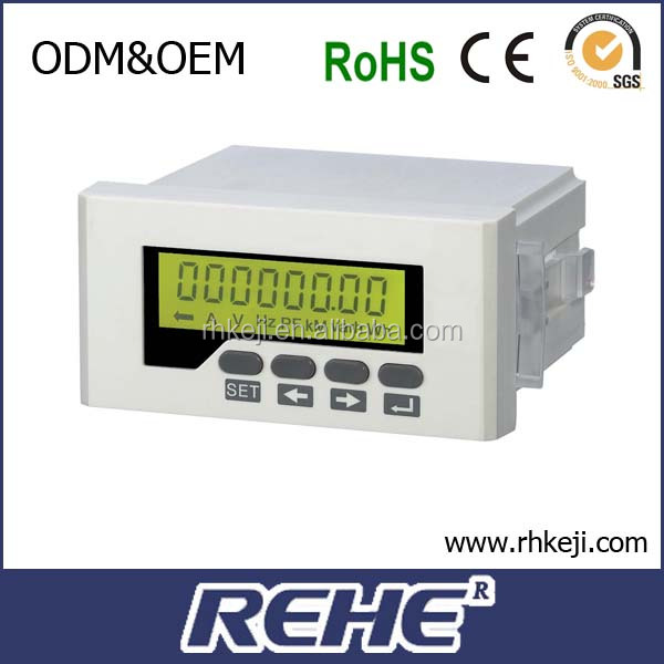digital panel meter revolution Counter LCD r/min meter led display