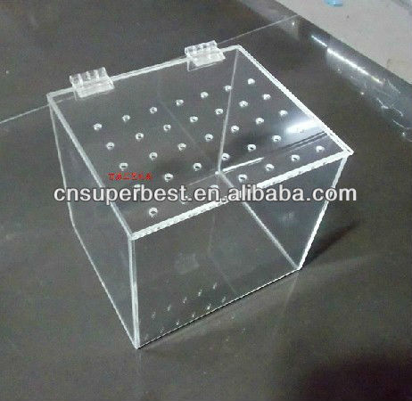 clear acrylic mini fish tank with high quality