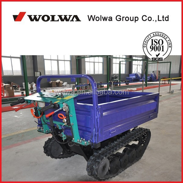 0.8ton electric mini dumper, tracked carrier