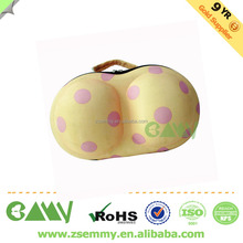 new fashion high quality portable cosmetic modleed bra travel eva case