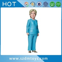 Wholesale hillary bobblehead personalized one piece action figures