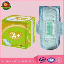 Women female sanitary napkin with negative ion