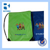 Promotional Cheap Gift Sports Gym Sack Backpack Waterproof HDPE/LDPE Custom Printing Plastic Drawstring