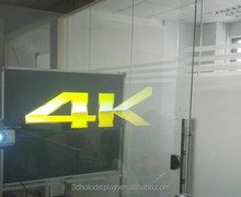 Hot Sale 3D Holographic Projection /Acrylic Rear Projection Film for Shop Window,Touch Screen