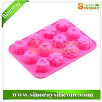12 Cavity Silicone Cake Mold Chocolate Mould Soap Mold,Silicone Cake Molds,Silicone Chocolate Mold