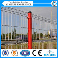 factory color galvanized steel fence panels