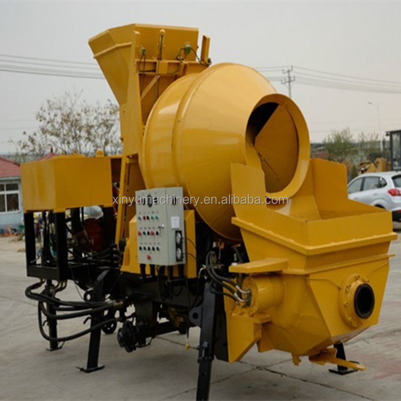 Building and construction equipment/ JBT30 Portable Concrete Mixer With Pump