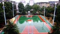 synthetic badminton court materials basketball court flooring/volleyball court with high quality