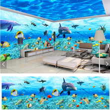 Vivid 3D PVC vinyl Flooring Linoleum Covering for sale