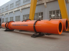 Organic fertilizer rotary dryer for drying organic fertilizer