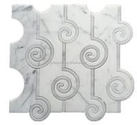 Marble Border Designs Waterjet Mosaic Cutting Tiles