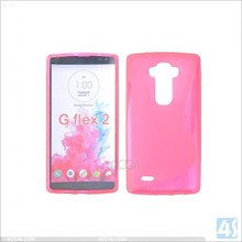 S Type tpu case for LG G flex 2, soft case for LG G flex 2, for LG G flex 2