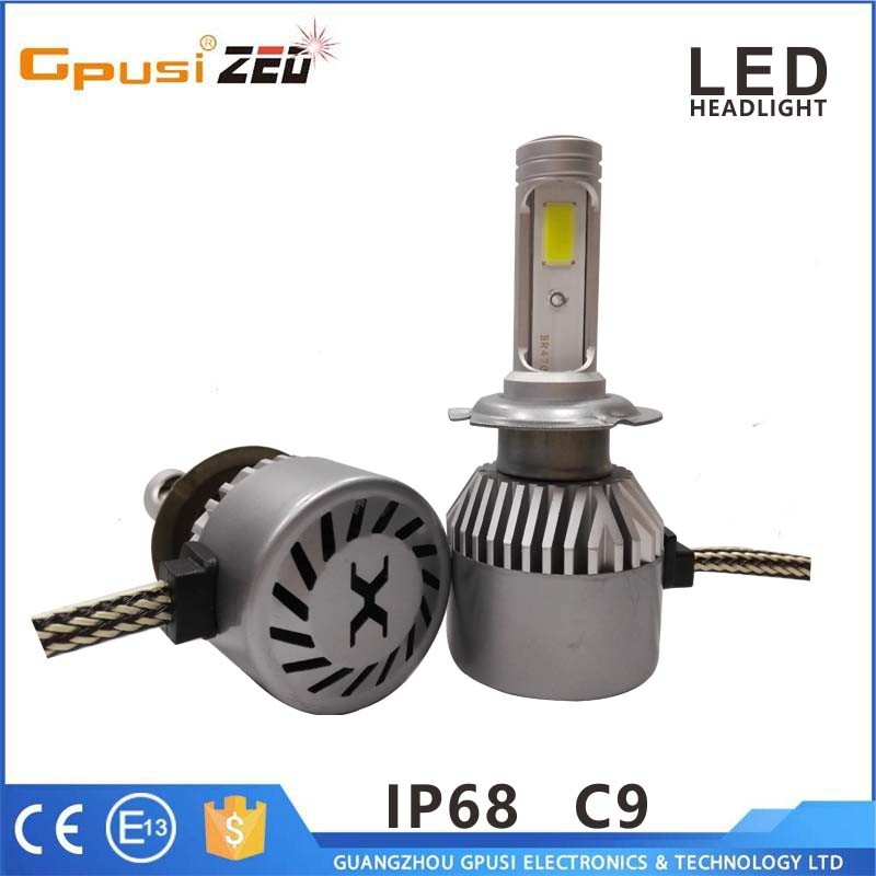 Car Led Headlight 6000k 4800lm 80w Bulb Lamp H1 H3 H4 H7 H8 H11 H13 H15 H16 H27 9004 9012 LED Headlight Bulb Conversion Kit