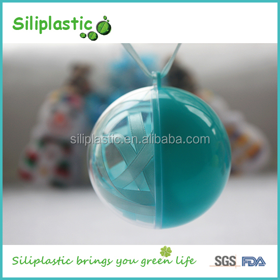 40mm Personalized Christmas Tree Ornaments for Decoration