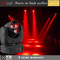 3x4in1 15w led RGBW mini flower effect beam stage lighting moving head