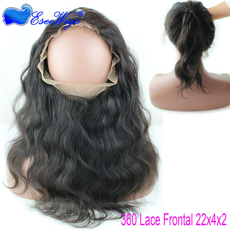New style lace frontal closure natural hairline 360 lace frontal virgin human hair