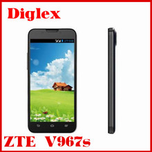 Excellent original ZTE V967S mtk6589 Quad core 5.0MP 1G ram 4G rom with dual sim gsm wcdma android phone unlock