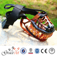 Human safety tool dog muzzle for fierce dog
