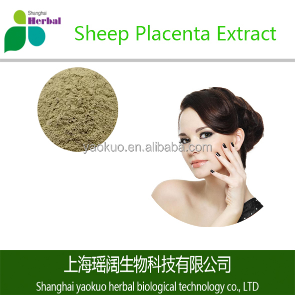 100% Pure Best Price Sheep Placenta Extract Powder