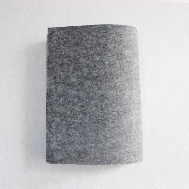 wholesale grey 5mm thickness pressed industrial 100% wool felt