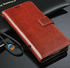 Factory Custom Flip Reto Book Leather Stand Cover Wallet Case with Chain for Samsung Galaxy s5