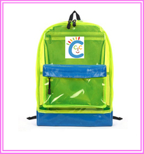 Waterproof Transparent PVC Student Backpack