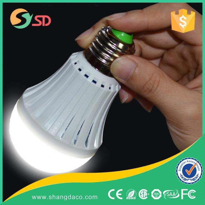Factory Price 5w 7w 12w led rechargeable e27 wall mounted led emergency lights