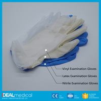 Bulk sale Dispossable Latex Surgical/Latex Examination/Nitrile/Vinyl Gloves with CE& ISO