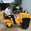 vibration double drum compact road roller 2ton manual road roller