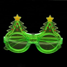 led 6pcs light christmas tree christmas funny glasses