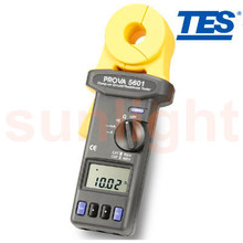 PROVA-5601 Clamp-on Ground Resistance Tester, Ground Leakage Current Tester with Datalogger