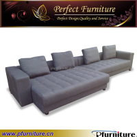 Fabric modern sectional night and day sofa beds