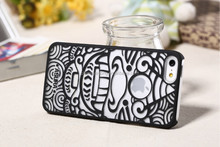 For iphone5s embossed phone case for girl