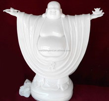 High quality stone chinese laughing buddha carving statue