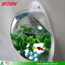 Wholesale Best Selling Wall mounted Acrylic Fish aquarium Mini Acrylic Fish Tank for Sale