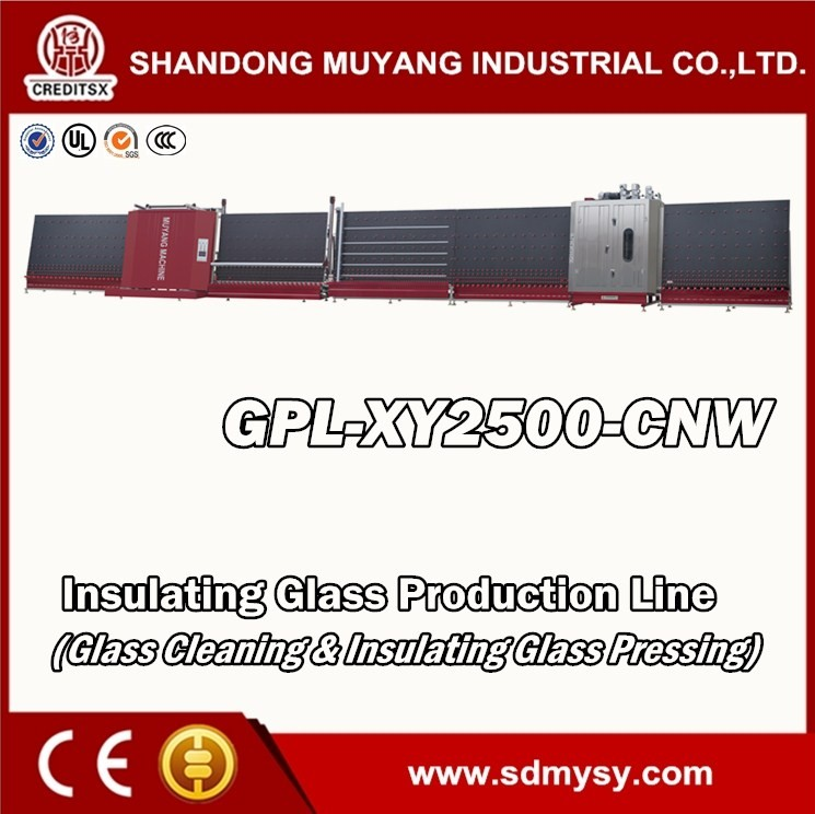 GPL-XY2000/2500-CNW CNC Insulating Glass Machine Production Line