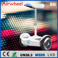 airwheel high quality 2 wheel personal vehicle airwheel S6 self-balancing electric scooter sittable scooter hoverboard air board