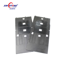 Bulk CR80 Inkjet printing plastic ID card tray for Epson printers R300, R310, R350, China Manufacturer