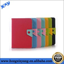 Stylish Fresh Color Wallet PU Leather Case For Ipad Mini.