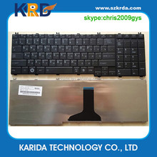Genuine laptop keyboard for TOSHIBA C650D C650 L650 L650D L655 L670 L660 L675 C660 C655 RU notebook