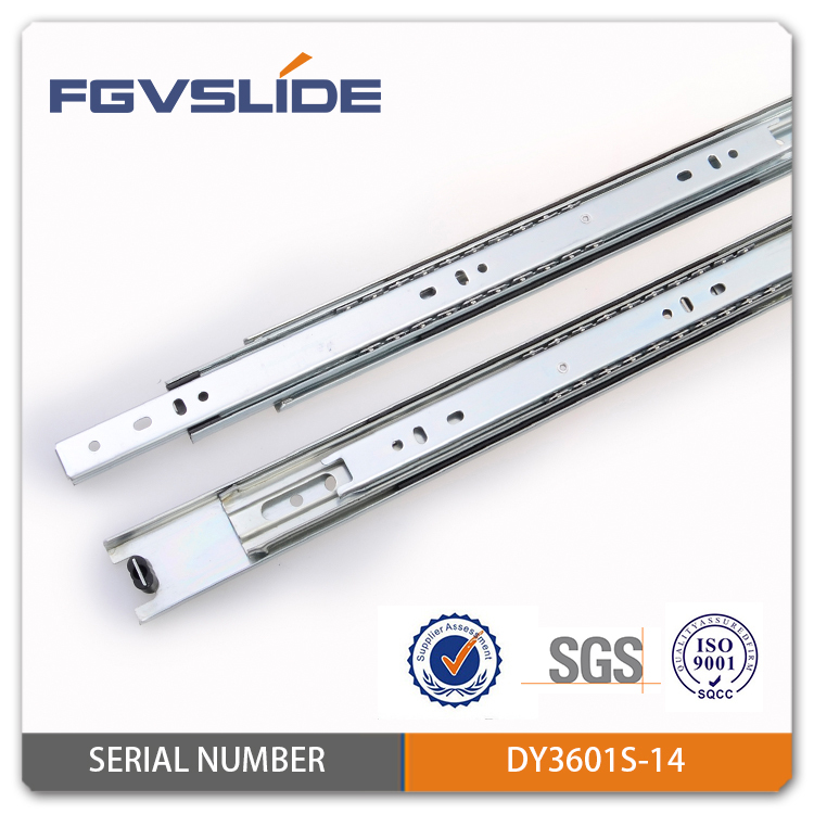 35 mm ball bearing industrial slide rail