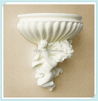 resin angel vase wall hanging angel flower pot