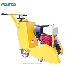 180mm concrete and asphalt road cutter with gasoline engine from china