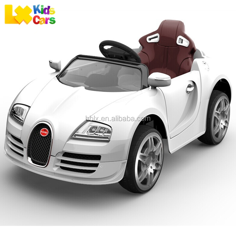 Bugatti Veyron Style Kids Electric Car, electric toy car for kids with remote control